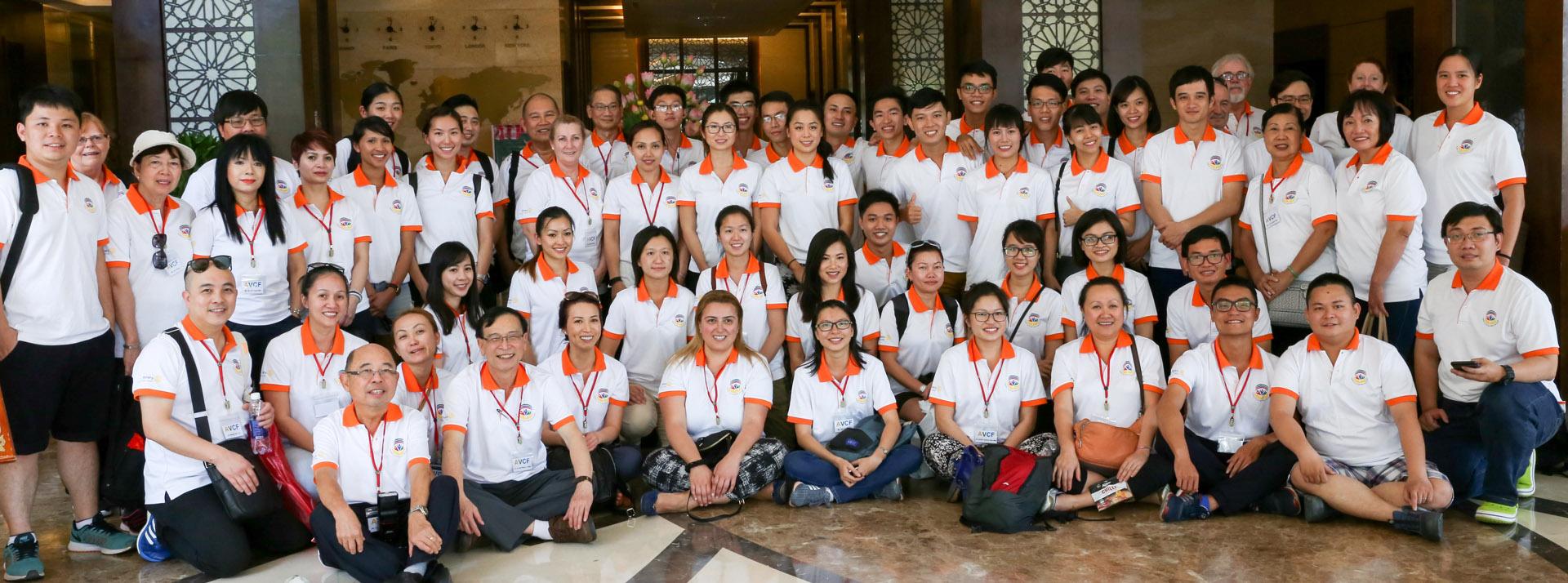 Photo of AVCF volunteers in 2016 field trip